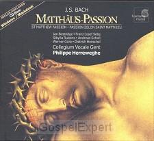 Matthaus Passion, J.S. Bach