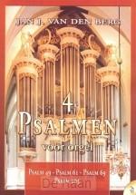 4 psalmen voor orgel