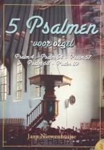 5 psalmen voor orgel