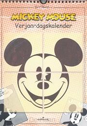verjaardagskalender mickey mouse