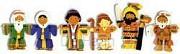 4 in 1 puzzel bijbelverhalen