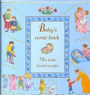 Baby's eerste boek  blauw
