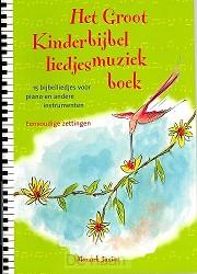 Groot kinderbijbelliedjesmuziekboek