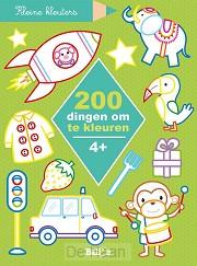 200 dingen om te kleuren 4+