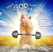 Kaart m env met God kun je alles