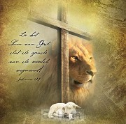 Kaart m env zie het Lam van God