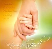 Kaart m env vertrouw op God