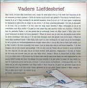 Kaart Vaders liefdesbrief