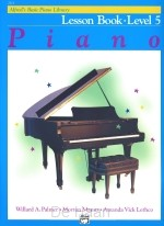 piano lesson book level 5