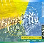 Singing joyfully