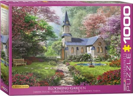 Puzzel Blooming garden (1000)