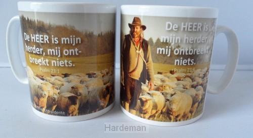 Beker de Heer is mijn herder