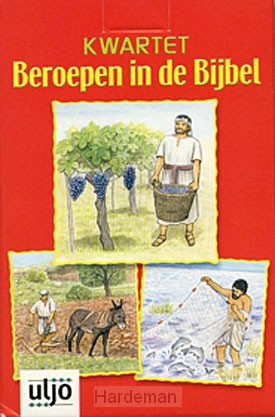 Kwartet beroepen uit de bijbel vanaf 7 j