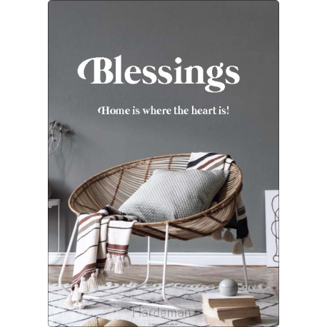 Interieurbord blessings
