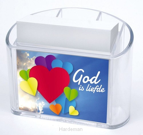 Memohouder God is liefde