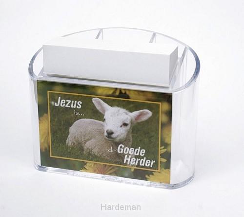 Memohouder Jezus is de goede herder
