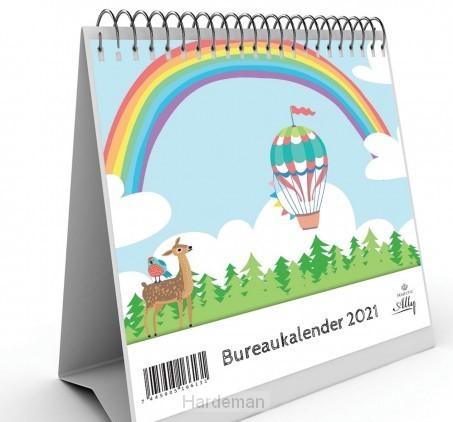 Kalender 2021 Bureau Je bent geliefd