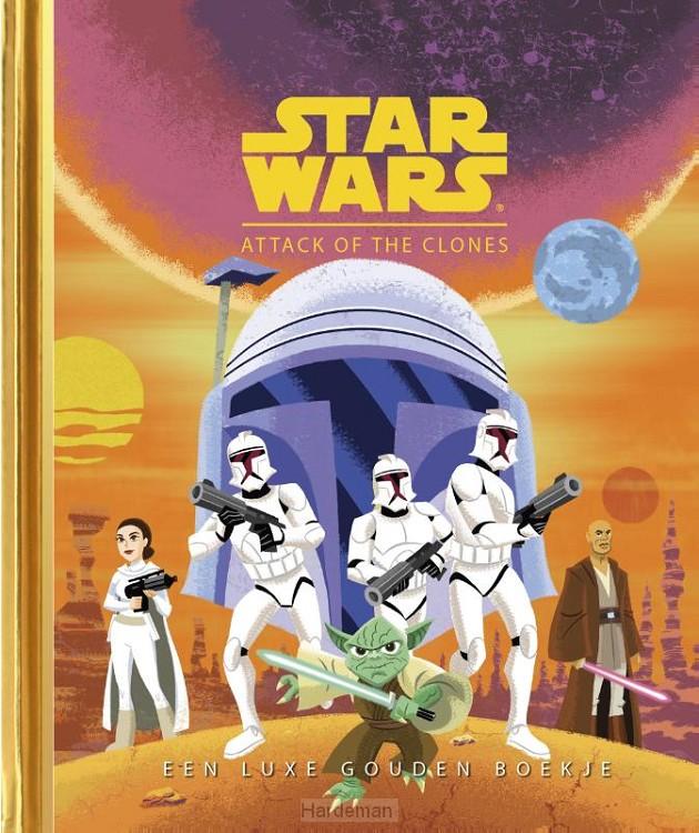 Gouden Boekjes - Star Wars: Attack of the Clones