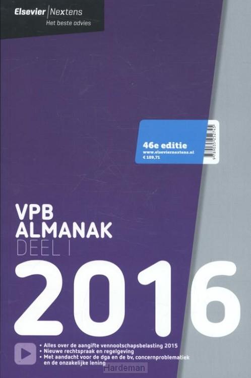 Elsevier VPB almanak / 2016 dl. 1
