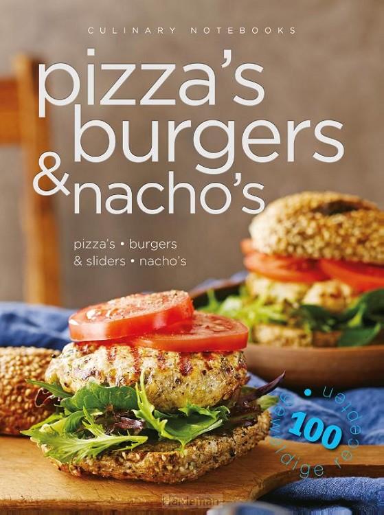 Culinary notebooks Pizza's burgers & nacho's