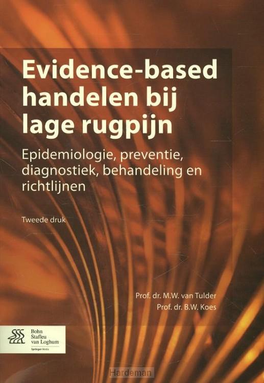 Evidence-based handelen bij lage rugpijn