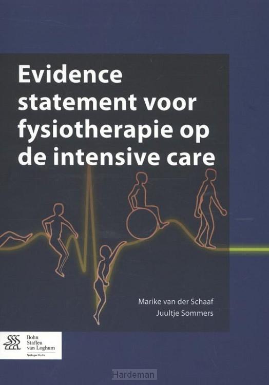 Evidence statement voor fysiotherapie op de intensive care
