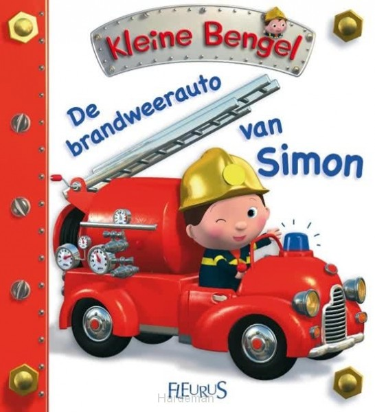 Brandweerauto van simon