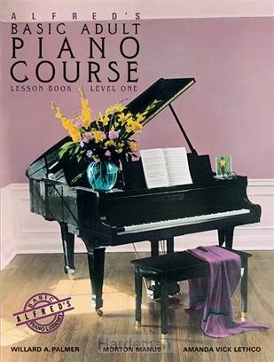 Alfred's basic adult piano cours lesson