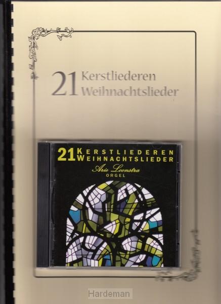 21 Kerstliederen voor orgel (incl CD)