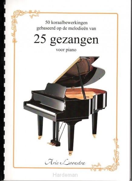 25 gezangen voor piano
