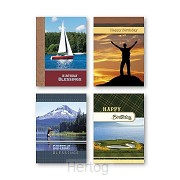 Birthday cards men outdoor set4