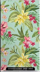 2021 28 month planner Palm and Floral