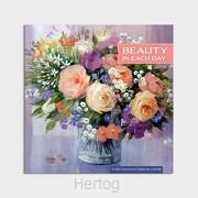 2022 Premium calendar Floral bouquet