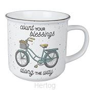 Vintage mug blessings