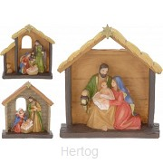 Kerststal in frame set3