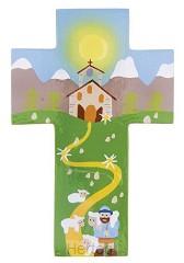 Kruisje hout goede herder