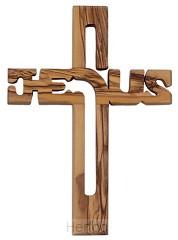 Kruis olijfhout Jezus