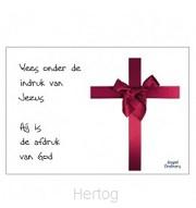 Kerstkaart wees onder de indruk van Jezu