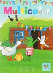 Kikker multicolor bal kleurboek