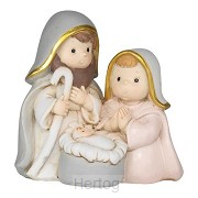 1 pc holy family figurine 8,9cm