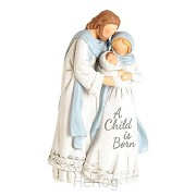 1 pc holy family a Child is born nativit