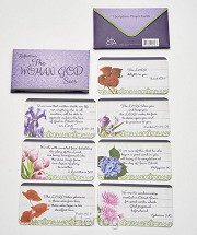 7 scripture cards/wallet reflections
