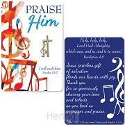 Lapel pin praise Him