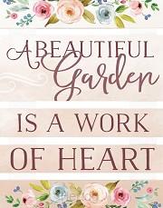 A beautiful garden - Pallet