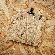 Klembord SV vierkant 16,5x16,5cm