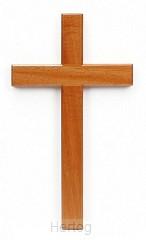 Kruis hang 15cm blank hout