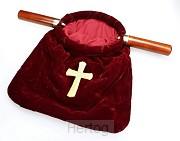 Collectezak rood met kruis