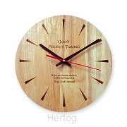 Wall clock if you are praying