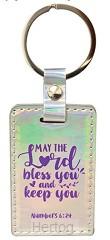 Keyring iridescent may the Lord