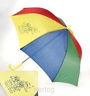 Kinderparaplu bij regen of zonneschijn